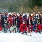 la classe de neige - janvier 2014